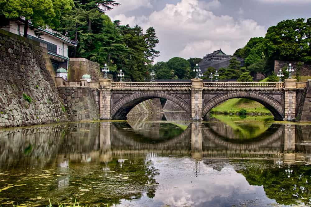 Nijubashi Bridge and Tokyo Imperial Palace