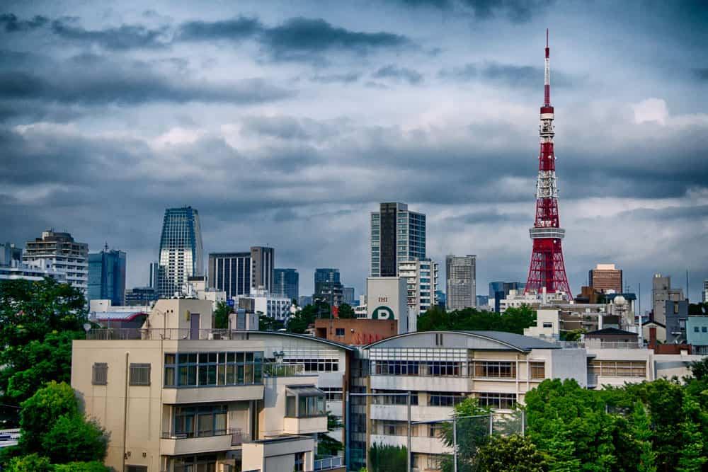 Tokyo Skyline from Roppongi Hills