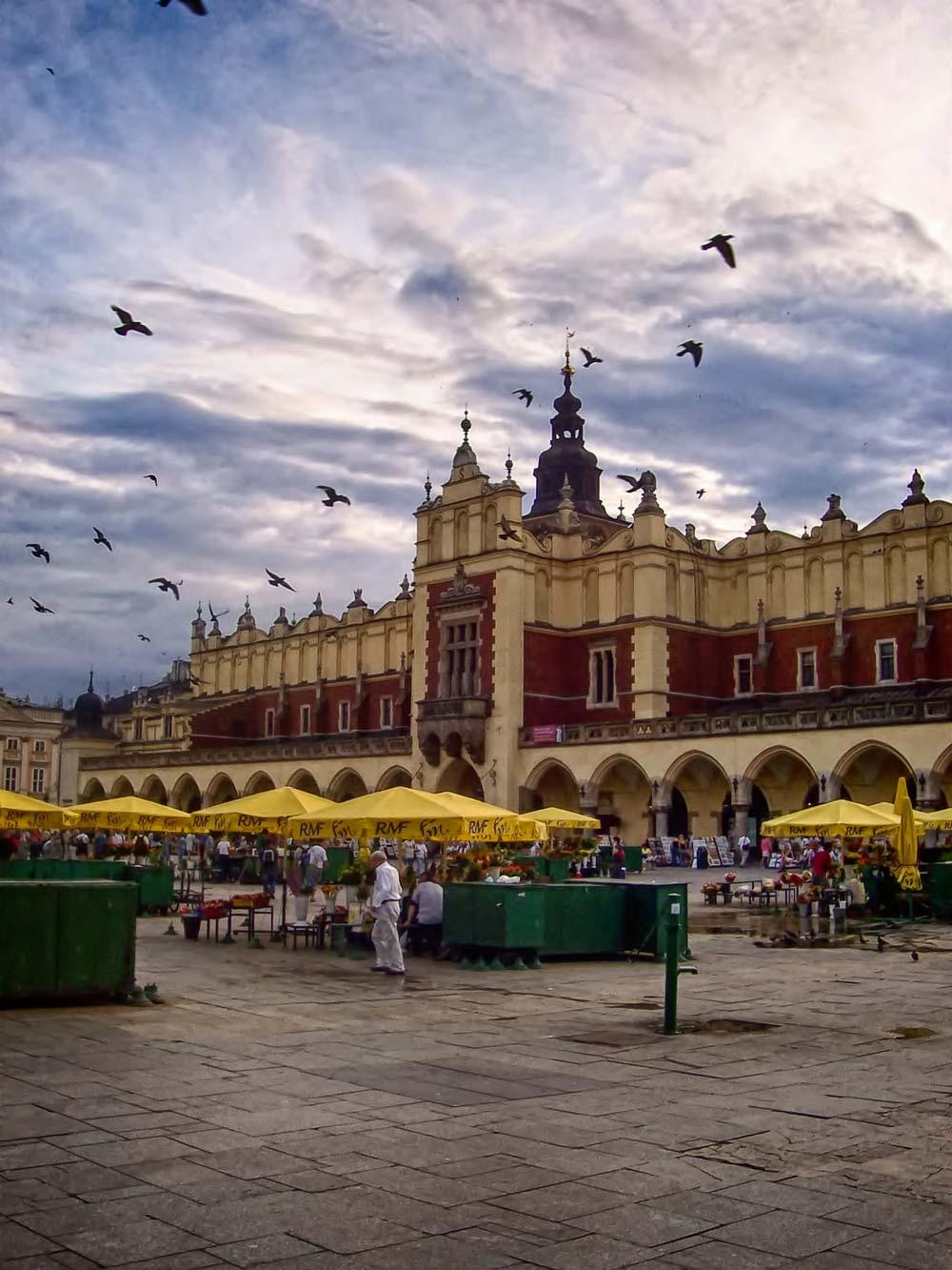 Cloth Hall in Market Square, Krakow