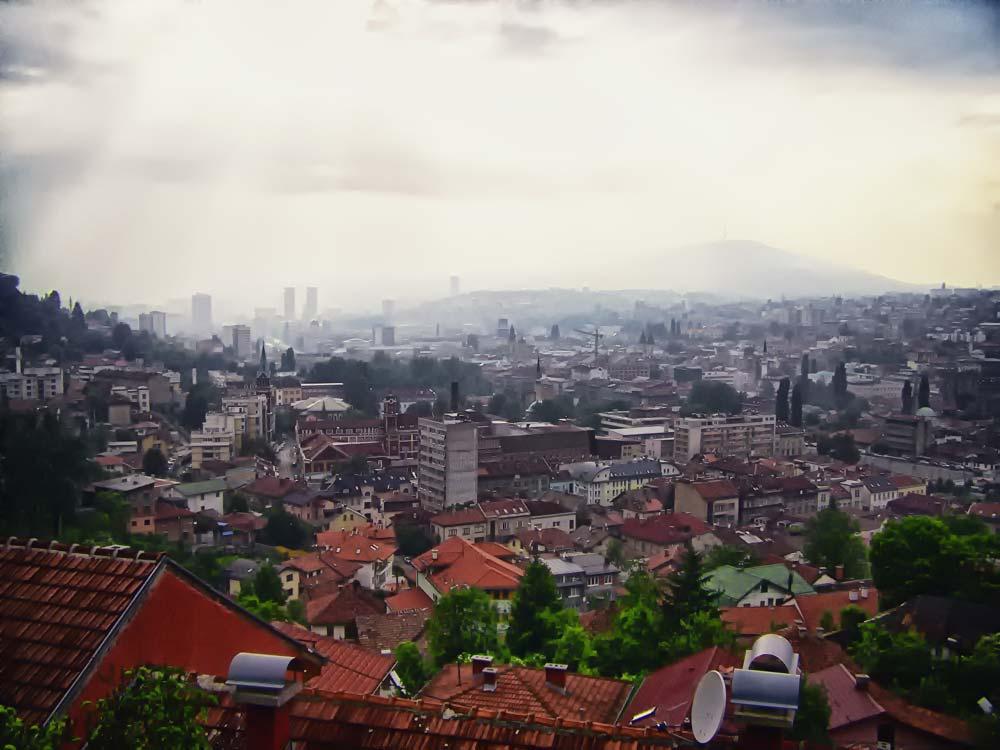 Sarajevo Skyline
